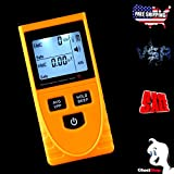 EMF Meter Electric Magnetic Radiation Field Detector Ghost Hunting Equipment Paranormal Safety Dosimeter Monitoring Devices.Portable Handheld Phone PC Home Tester LCD Display Sound-light Alarm Digital