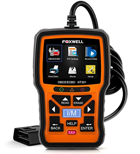 FOXWELL NT301 OBD2 Scanner Professional Enhanced OBDII Diagnostic Code Reader Tool (2011 Ford Super Duty Diesel For Sale)