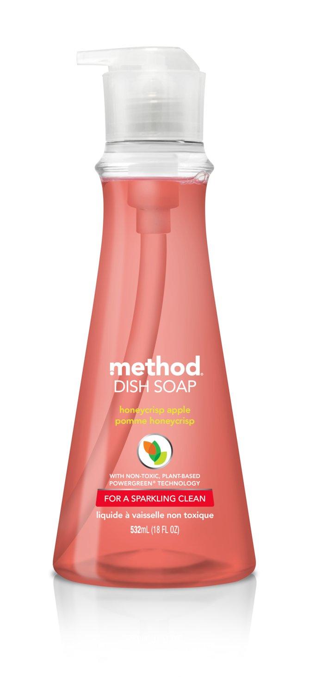 Method Dish Soap, Honeycrisp Apple, 18 Ounce