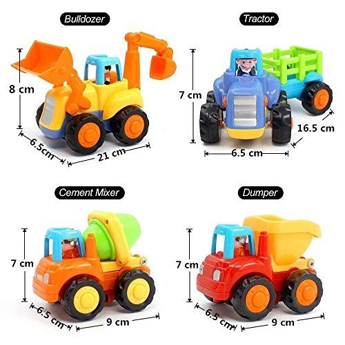 outlet Vehículos de Construcción Plastico Mini Juguetes Set