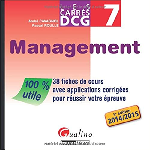 Livres Carres Dcg 7 - Management pdf, epub ebook