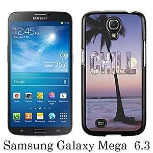 chill Black Unique Abstract Custom Samsung Galaxy Mega 6.3 i9200 i9205 Case