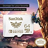 SanDisk 64GB microSDXC UHS-I Memory Card for
