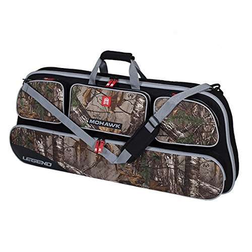 Legend Archery Mohawk Compound Bow Case and Backpack with Shoulder Straps - Multiple Mesh Pocket - Thick Padding - Durable Nylon Zipper