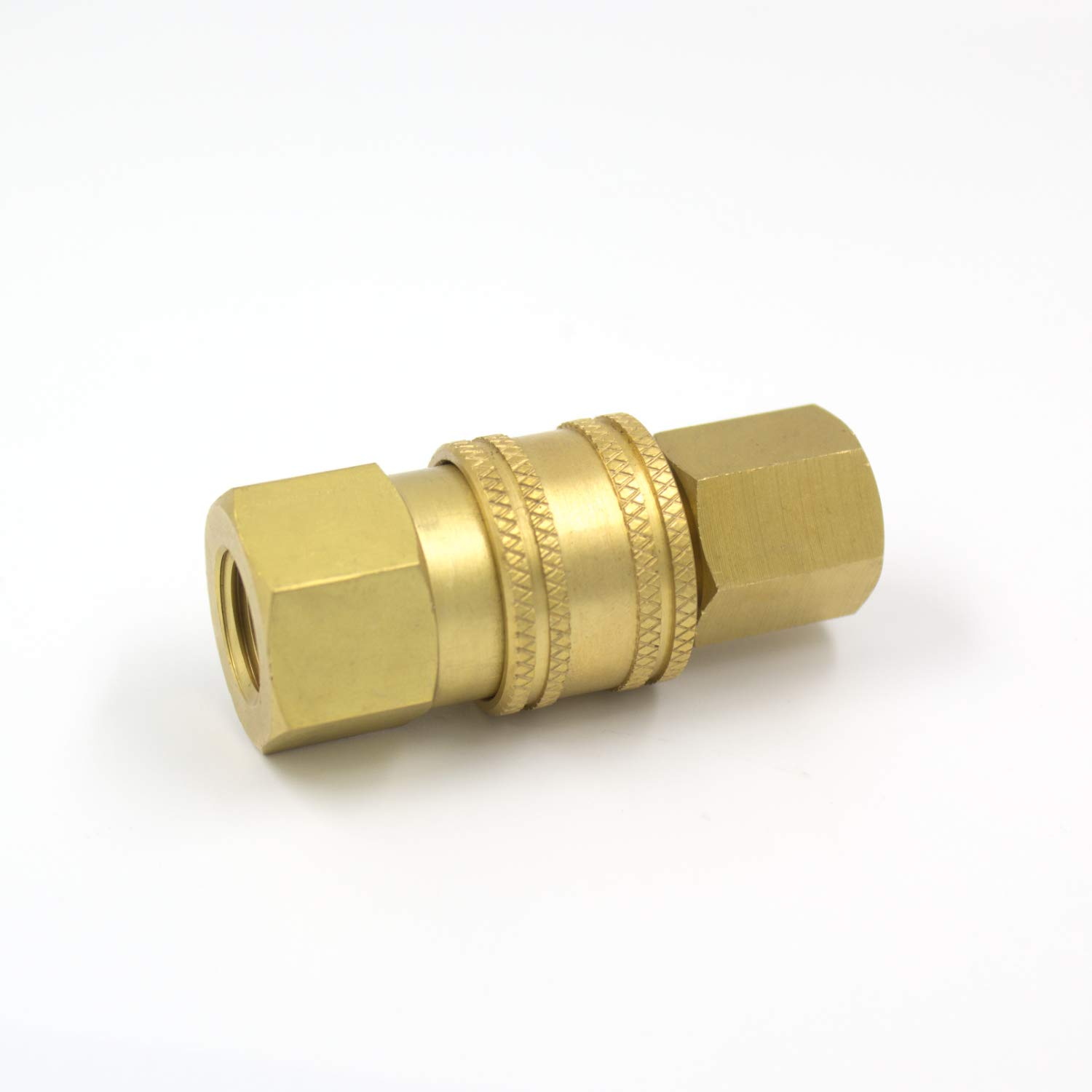AKJia Pressure Washer Brass Quick Coupler Fittings,1//4 Inch Quick Coupler