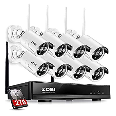 ZOSI Wireless CCTV Surveillance Systems Outdoor Security Network Camera from ZOSI