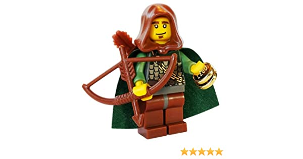 Lego Quivers x 2 Reddish Brown for Minifigure