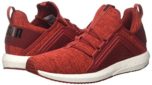 flamme Puma Cross Noir Mega Scarlet Knit puma Hommes Sneakers Rouge dahlia Nrgy 4wgwfO