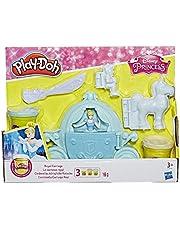 Hasbro Play-Doh C1045EU4 - Cinderellas Königliche Kutsche, Knete