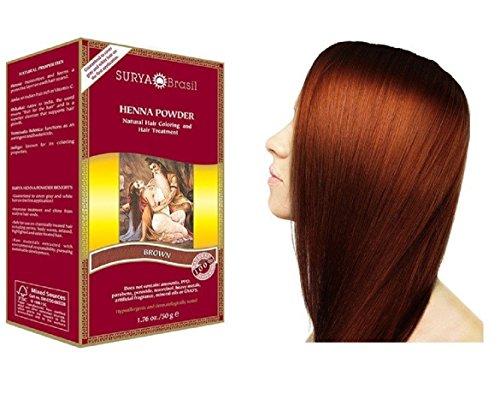 Surya Brasil Products Henna Powder, Brown, 1.76 Ounce