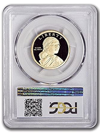 FIRST STRIKE 2015-S PROOF Sacagawea Native American Dollar Coin PCGS PR69DCAM