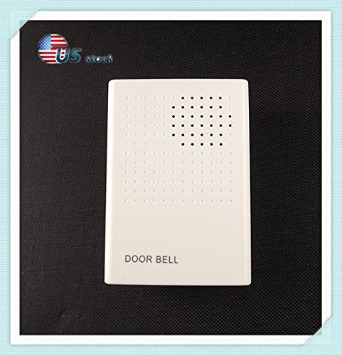 12v Buzz Wired Doorbell/Door Access Control System Supporting/no Install Battery