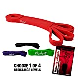 Pheeko Pull up Assist Band (red Band). Resistance Band Crossfit/Powerlifting Band/Crossfit Exercise Band/Resistance Band Loop. Includes How-to eguide. Red Single Band Review