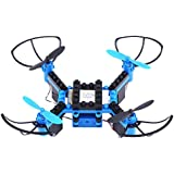 DIY Building Blocks Drone, Altitude Hold One-key Return Quadcopter Toy for Kid