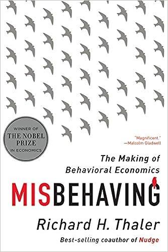 Misbehaving by Richard Thaler
