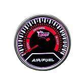"Etopars™ Car Motor Universal Smoke Tint Len 2"" 52mm Air Fule Ratio Indicator Gauge Meter"