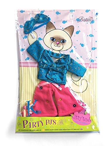 Kitty'tude Cats With Attitude Party PJs Set - Fits all Kitty'tude Kitties