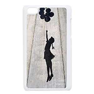 Popular graffiti art mural Banksy PC phone Case Cover FOR IPod Touch 4 CDAF468839