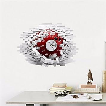 LFNRR Die Neue Runde Wanduhr Diy Große Digitale Wanduhr Wohnzimmer  Schlafzimmer Dekoration 18 Neueste Stil