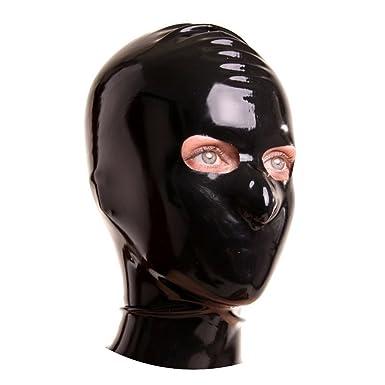 Rubber face masks fetish