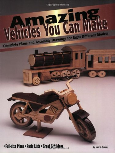Can Make: Complete Plans and Assembly Drawings for Eight Different Models (Vehicles You Can Make Series) ()