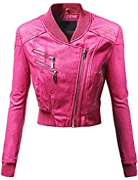Leather Jacket Pink