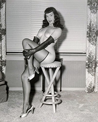 Bettie Page Photo Print