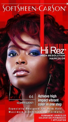 Hi Rez Permanent Hair Color, Scarlet Splash by Hi Rez