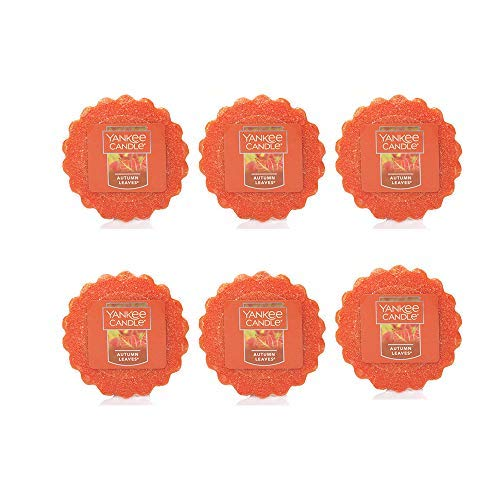 Yankee Candle Lot of 6 Autumn Leaves Tarts Wax Melts