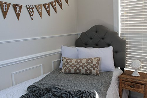 100% Knitted White Polyester Bulk Pack Pillow Cases (1, 12pk)
