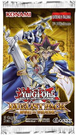 Konami Yu-Gi-Oh! Duelist Paquete i Rivales de Faraón 1a Edición Envoltura 5 Tarjetas (It): Amazon.es: Juguetes y juegos