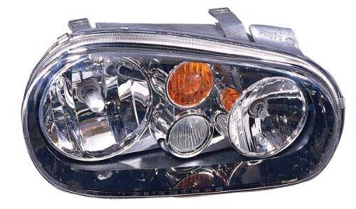 Depo 341-1108L-ASF2Y Volkswagen Golf/GTI Driver Side Replacement Headlight Assembly