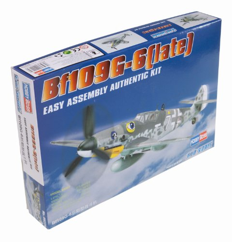 Hobby Boss Bf 109G-6 Late Airplane Model Building -