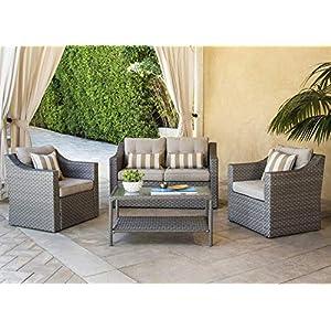 51nQN1cnQnL._SS300_ Wicker Sofa Sets & Rattan Sofa Sets