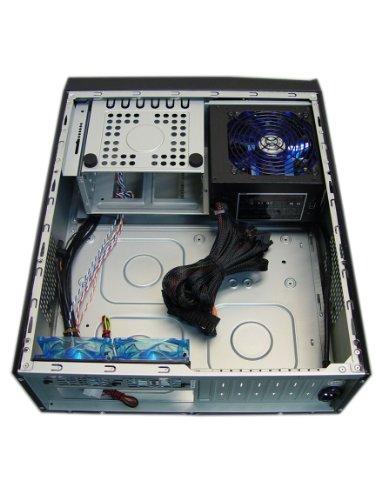 Apevia X-MASTER-AL/500 ATX Desktop/Media Center/HTPC Case, Fits Standard ATX/Micro ATX Motherboard, 500W ATX Power Supply, 2 x 80mm Fans, USB2.0/Firewire 1394/HD Audio Ports - Silver by Apevia (Image #9)