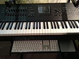 "All Metal Ball bearing Keyboard Slide - 14"", 3/4 Extension"