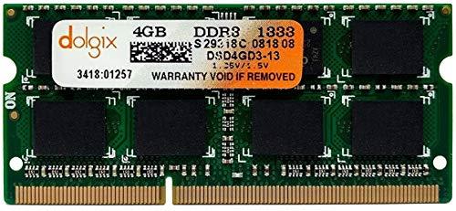 Memoria Ram 4gb 1333MHZ DDR3 SODIMM (PC3-10600)
