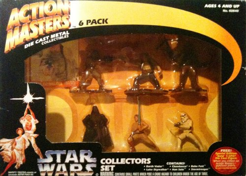 Star Wars Action Masters 6 Die Cast Metal Collectors (Diecast Collector Set)