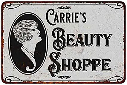 Amazon.com: Carries Beauty Shop 112180021132 - Cartel de ...