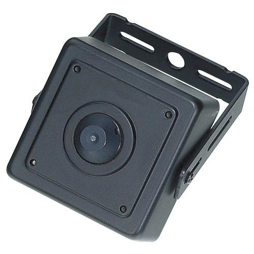 (KT&C KPC-EW38NUP4 700TVL D/N WDR Mini Square Camera, 4.3mm Super Cone Pinhole Lens)