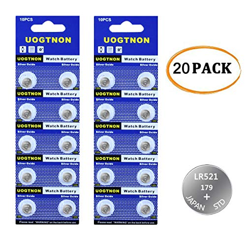 LR521 379(179) Watch Battery 1.5V Button Cell (20-Pack)