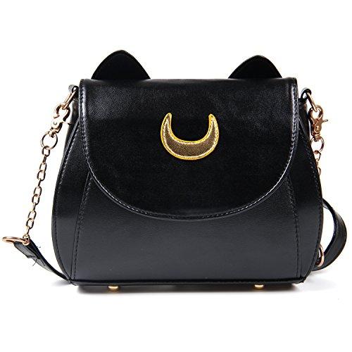Shoulder Black Handbag Bags Purses 2 Crossbody Cute SUI Top Grey Stylish Tote Handle Womens Cat Satchel LUI wCZFxqHYq
