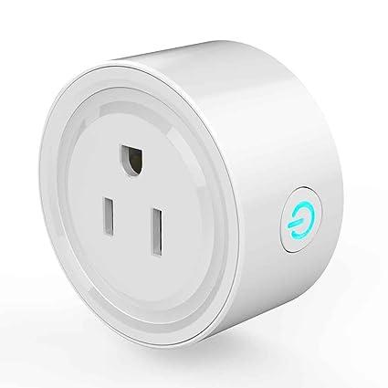 Xuanhemen JH-G01U WiFi Smart Plug Mini Smart Socket Outlet Appliances Mando a Distancia Funciona