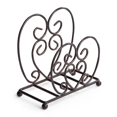 picture of Metal Scroll Luncheon Napkin Holder