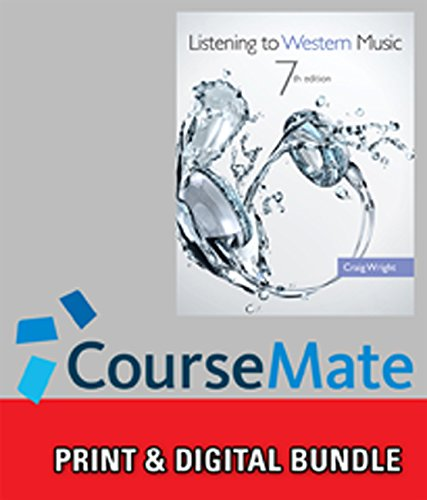 Bundle: Listening to Western Music (with Introduction to Listening CD), 7th + CourseMate, 1 term (6 months) Printed Acce