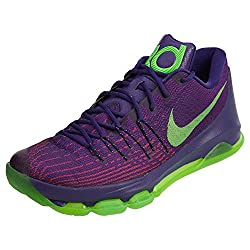 "Nike Mens Kd 8 ""Suit""basketball Shoes Court Purplegreen Strike 747212-818 Size 14"
