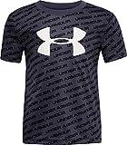 Under Armour Boys' Toddler Tech Big Logo Short Sleeve T-Shirt, Wire F19, 4T