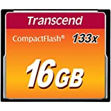 Transcend 16Gb Compact Flash Card (133X)
