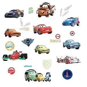 Disney pixar cars 2 wall decals for Disney pixar cars wall mural