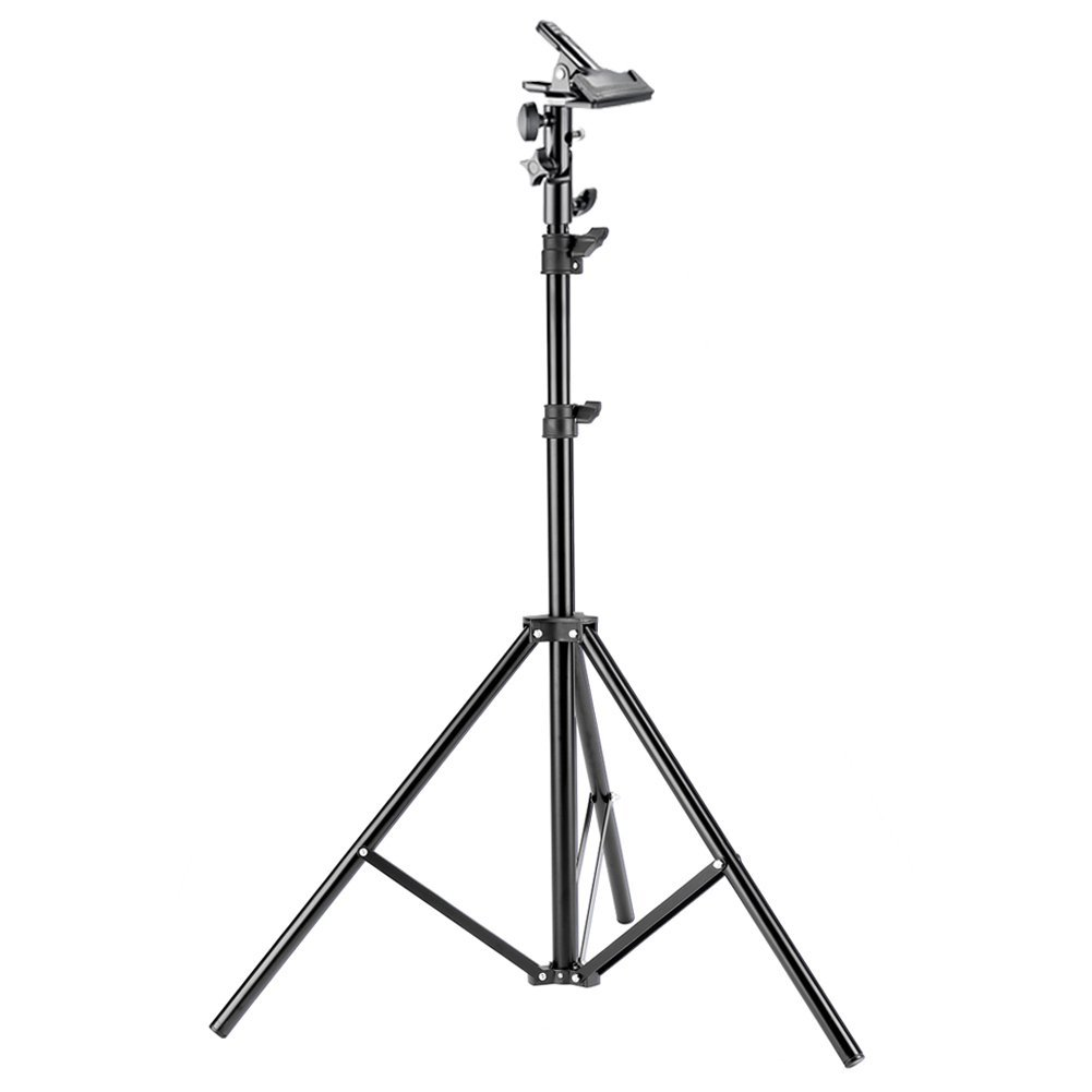 Neewer 6 feet/190 centimeters Photo Studio Photography Light Stand with Heavy-duty Metal Clamp Holder for Reflectors